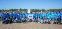Source to the Sea Cleanup 2017-100 volunteers, 1.1 tons of trash; 500 lbs. of  recyclables